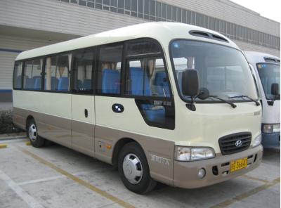 【旅游包车】22座金龙_丰田_延边出发_到长白山旅游